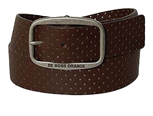 BOSS Ceinture unisex casual belt leather brown 36