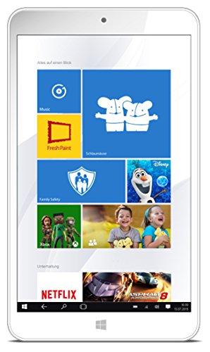 Odys Winkid 8 Tablet-PC weiß inkl. Schutzhülle