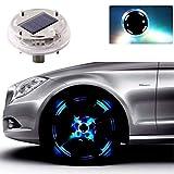 Laduup Auto 4 Modi LED Solar Energie Blinklicht Reifen...