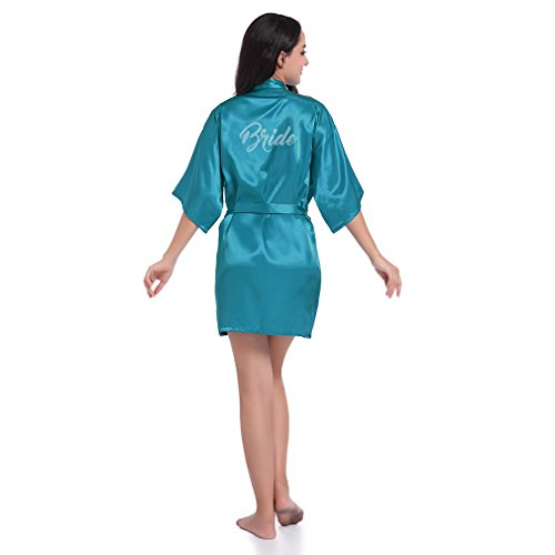 BOYANN Novia Cristal Ropa Dormir Sexy Batas Kimonos