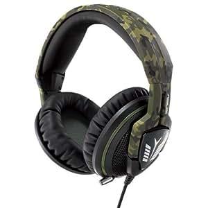 Asus Echelon Forest Gaming Headset (Geräuschabschirmung bis zu 30dB, Multi-Plattform-Unterstützung, 100mm große Ohrpolster) military camouflage