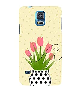 Honey Bee 3D Hard Polycarbonate Designer Back Case Cover for Samsung Galaxy S5 G900i :: Samsung Galaxy S5 i9600 :: Samsung Galaxy S5 G900F