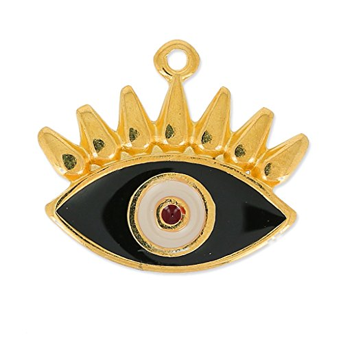 pendente-occhio-portafortuna-in-smalto-epossidico-21-mm-nero-beige-dorato-x1