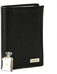 Portefeuille design Portefeuille homme cuir noir N1335 Cadeau homme