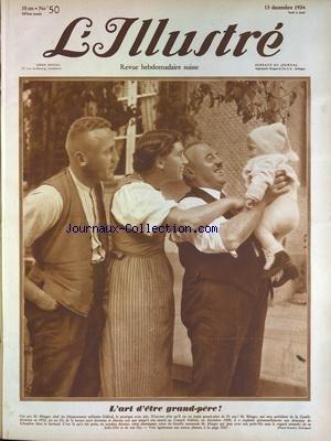 ILLUSTRE SUISSE (L') [No 50] du 13/12/1934