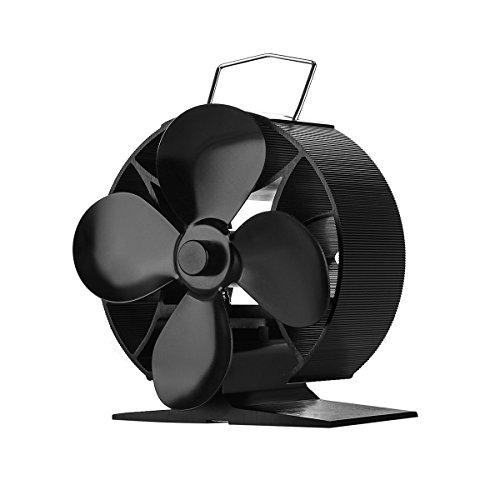 Stromloser Ventilator für Kamin Holzöfen Öfen Ventilator Ofenventilator (Runden)