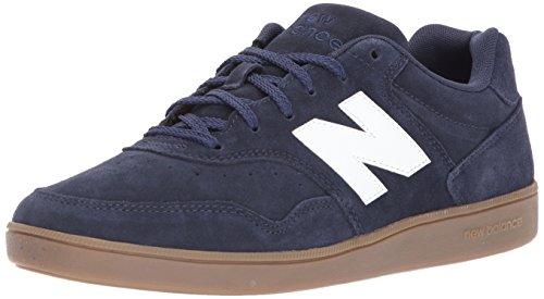 New Balance Männer Fußball CT288V1 Lifestyle Schuhe, 42.5 EUR - Width D, Navy/Gum (New Balance Schuhe Fußball)