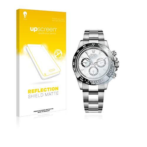 upscreen Matt Schutzfolie kompatibel mit Rolex Cosmograph Daytona (40 mm) - Entspiegelt, Anti-Reflex, Anti-Fingerprint - Cosmograph Rolex Daytona