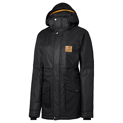 Mountain Horse Snowy Parka Jacket Medium Black