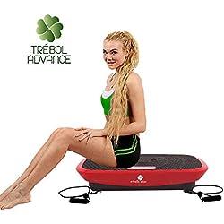 TREBOL ADVANCE Plataforma Fitness 3000 Vibratoria Oscilante 3 D 500W Triplanar