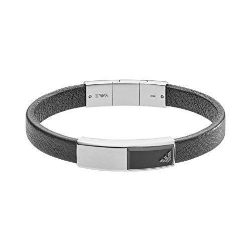 emporio armani armband herren Emporio Armani Herren- Armband EGS2288040, Schwarz