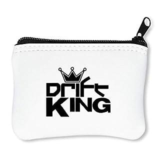 Automotive Drift King Reißverschluss-Geldbörse Brieftasche Geldbörse