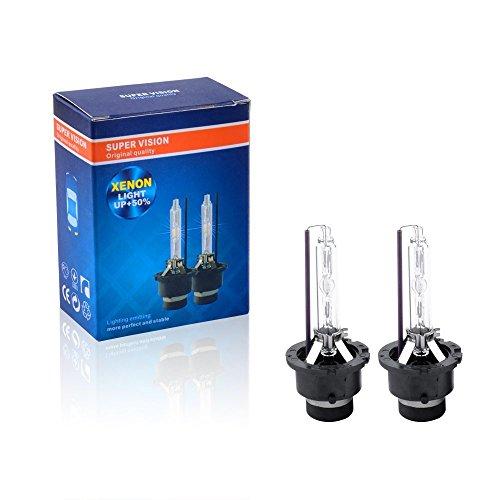 Preisvergleich Produktbild Top-Longer D2S Xenon Brenner HID Scheinwerfer 12V 35W Ersatz Licht 5000K (2er Set)