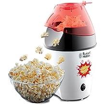 Russell Hobbs Fiesta Popcornmaschine 24630-56/Heißluft Popcorn Maker für Zuhause - kalorienarm, ohne Fett & Öl (1200 Watt) - inkl. Deckel und Messlöffel/Kabelgebunden