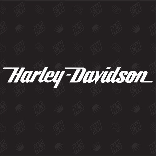 HARLEY DAVIDSON Inscription ? Stickers