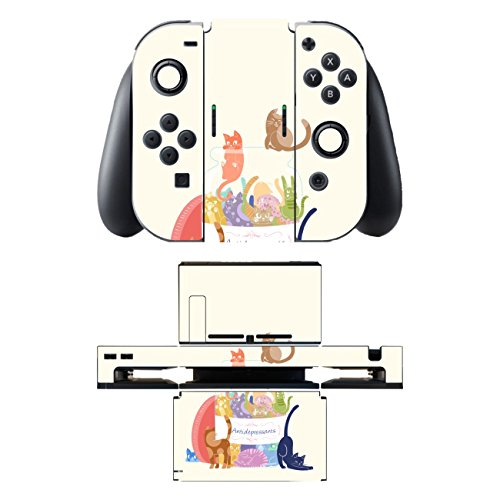 "Motivos Disagu Design Skin para Nintendo Switch + Controller + Dockingstation: ""Antidepressants 02"" 41LybWGX uL"