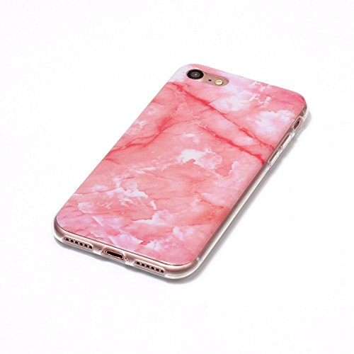 EKINHUI Case Cover Für Apple IPhone 5 5s SE Fall Marbling Textur Soft TPU Abdeckung Slim Ultra Thin Anti-Kratzer Schock Absorption Schutzmaßnahmen zurück Deckung Shell ( Color : A ) N