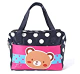 EZ Life Kids Carry Bag - Blue - Dots - Bear (Small)
