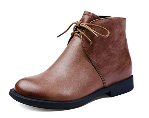 e Up Martin Stiefel Damen Herbst Winter Fashion Ankle Boots,Brown,39EU ()