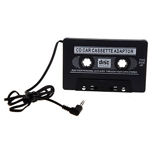 TOOGOO(R) Universal KFZ Audio Kassetten Adapter Schwarz 2. Generation 4gb Mp3-player