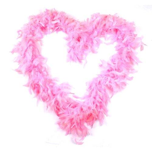 BestOfferBuy 2M Feder Boa Plüsch Party Dekoration Kostüm Verkleidung Requisit - Rosa Boa