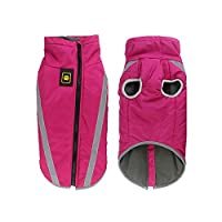 Hopereo Large Dog Raincoat Waterproof Dog Poncho Vest For Big Dogs Outdoor Pet Rain Cap Blue Golden Retriever Husky,Pink,5Xl