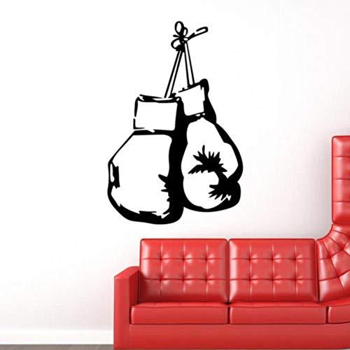 Wandaufkleber Boxhandschuh Für Mann Beste Geschenk Dekoration Für Zuhause SchlafzimmerAufkleber SportraumDekorative Kunst 56 * 84 Cm