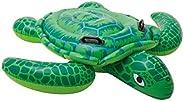 Intex Lil' Sea Turtle Ride On 1.50m x 1.27m Swimming Pool Beach Toy #575