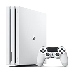 Sony PlayStation 4 Pro Console – White – 1TB