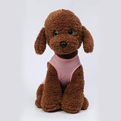 T.boys Pet Sommer Niedlicher Hund Kleidung Welpen Bekleidung Gedruckt Haustier Weste Ärmellos Tank Top Hundebekleidung Weste für Kleine Puppy Dogs Katzen Sommershirt für Hunde