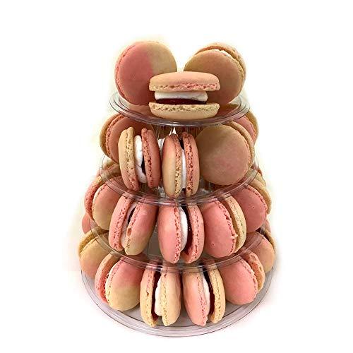 candora 4-storey Macaron Display Ständer Kuchen Ständer Macaron Tower (Cupcake-kuppel)