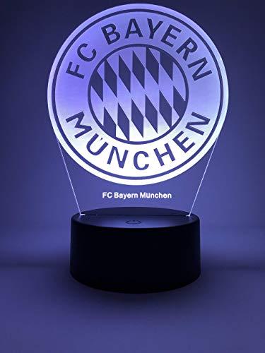 Preisvergleich Produktbild Offizielle 3D Lampe von FC Bayern München Original Zubehör 2019-2020