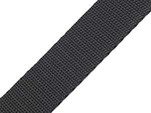 maDDma ® 4 Meter Gurtband, 20mm, dunkelgrau