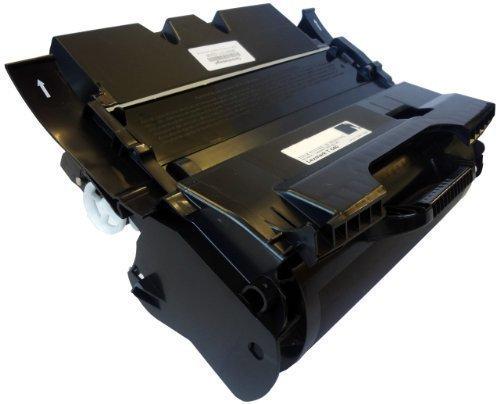 Bubprint Toner kompatibel für Lexmark 64036HE für Optra T640 T640DN T640DTN T640N T640TN T642 T642DN T642N T644 T644DN T644N 21.000 Seiten Schwarz