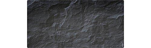 mySPOTTI 150918 aqua Schiefer, Spritzschutz für´s Bad, 90 x 45 cm
