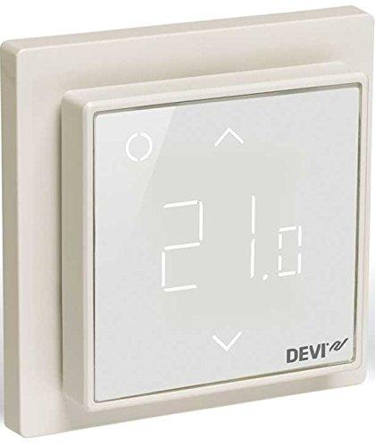 Devireg Smart Reinweiß - Thermostat für Fußbodenheizung mit WLAN-Anbindung -