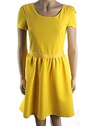 buy popular 33828 a5c4d Amazon.it: PATRIZIA PEPE - Giallo / Vestiti / Donna ...