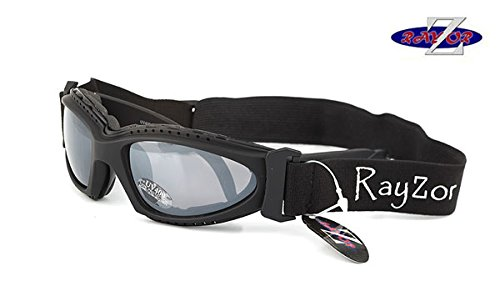 Rayzor Professional UV400 Black 2 In 1 Cycling MTB Sunglasses / Goggles, With...