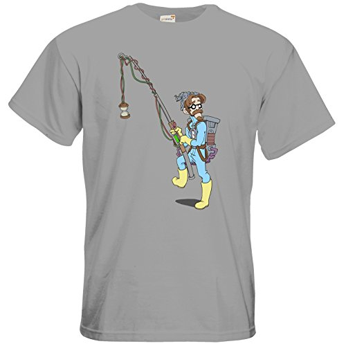 getshirts - Daedalic Official Merchandise - T-Shirt - Deponia Doomsday - McChronicle pacific grey