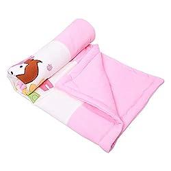 132 Premium Soft Cozy Fleece Blanket for Baby Girl Or Boy | Newborn Receiving Blanket for Crib, Stroller, Travel, Outdoor (34 x 41) (Design 10)