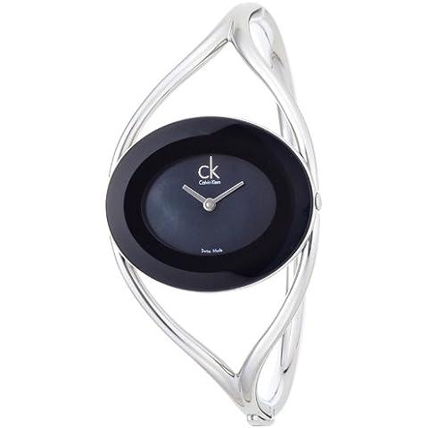 Calvin Klein K1A2361F - Orologio da polso, cinturino in acciaio inox colore argento - Calvin Klein Cinturini