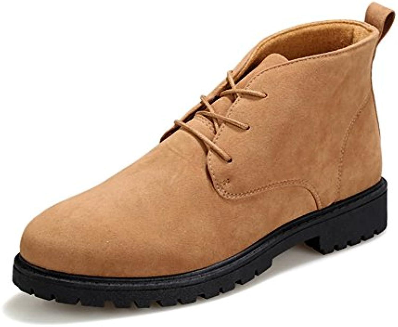 Jiuyue-Shoes, Botas de Papel para Hombre