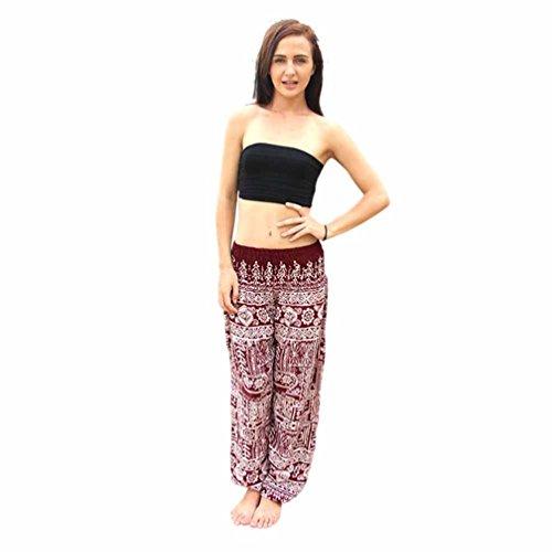 Yoga Hose Männer&Frauen,Sonnena Thai Harem Hosen Boho