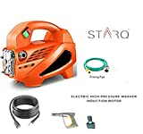 STARQ XNT W1 HIGH Pressure Washer Induction Motor with Rubber Hose Pipe 1500WATTS(100BAR)