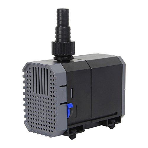 Qualität-wasser-filter Hohe (CHJ-900 ECO 20W 900L/H Teichpumpe Aquariumpumpe Bachlaufpumpe mit Keramik Achse für Teiche, Aquarium)