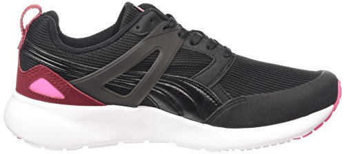 Puma Aril Basic Sports Wn's, Baskets Basses Femme Noir (black-cabernet-carmine 06)