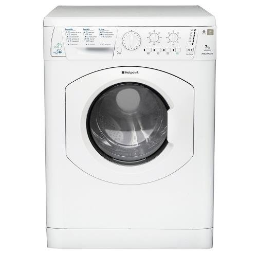 Hotpoint WDL5290P Washer Dryer Aquarius 1200 Spin 7kg Polar White