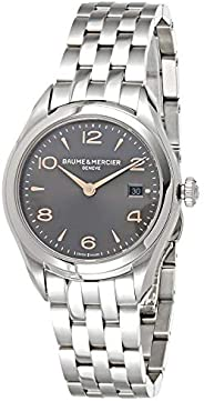 Baume & Mercier Women's Grey Dial Stainless Steel Band Watch