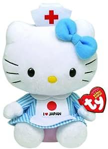 Ty - Ty40908 - Peluche - Hello Kitty - I Love Japan - 15 Cm