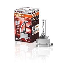 OSRAM XENARC NIGHT BREAKER LASER D1S, +200% di luce, bulbo HID allo xeno, lampada a scarica, 66140XNL, 4500 K, astuccio (1 lampada)